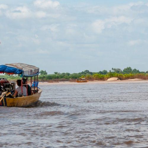 Irrawaddy dolphins Kratie Cambodia