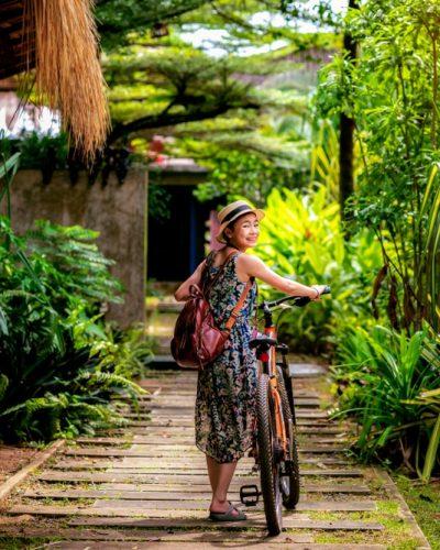 resort Koh Mak bicycle Trat Thailand